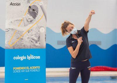 CD Hélicon · Masterclass de Gemma Mengual en el Colegio Hélicon